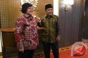 Pertemuan Menteri LHK-Ketua DPR