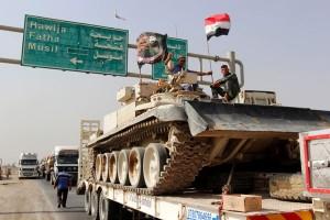 ISIS lawan ofensif Mosul dengan senjata kimia?