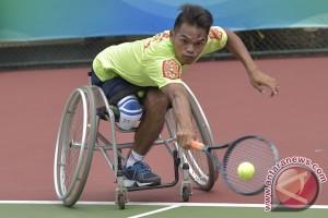 PEPARNAS - Bek Persib Vlado terkesan semangat atlet
