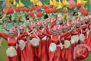 PEPARNAS - Aksi penari difabel semarakkan pembukaan