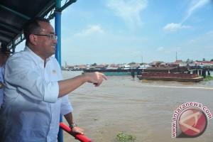 Kunjungan Kerja Menhub Di Palembang