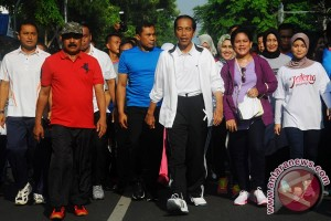 Presiden Di Solo Car Free Day