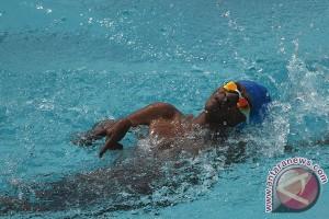 PEPARNAS - Pelatih  berharap pemerintah bangun kolam renang difabel
