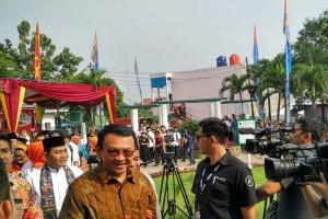 Ahok resmikan RPTRA Gebang Sari Bambu Apus