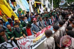 Tuntutan mahasiswa akan dilaporkan ke Presiden