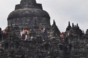Menteri Korea Selatan kagumi Candi Borobudur