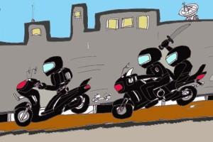 Polisi ringkus 14 begal di Bandung