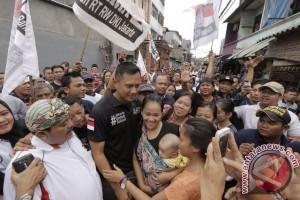 Agus Yudhoyono kukuhkan Relawan #JUARA