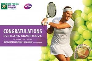 Kuznetsofa amankan tiket terakhir untuk WTA Finals