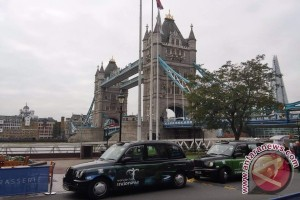 Promosi Wonderful Indonesia di 400 taksi London