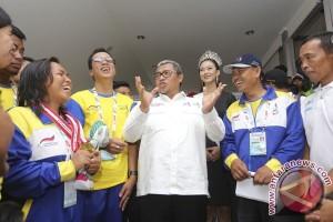 PEPARNAS - Aher optimistis Jabar kawinkan juara umum Peparnas-PON