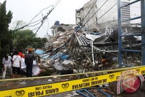 Ini kronologi ledakan tabung gas di Bekasi