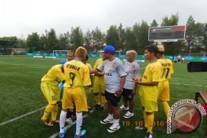 """PEPARNAS - """"Siksaan"""" bagi tim Kalsel di malam jelang laga final sepakbola CP5"""