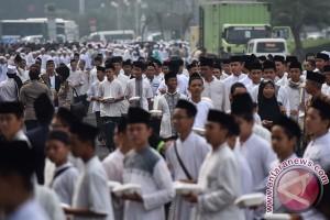 Hari Santri Nasional dan Custom Culture di Jakarta hari ini