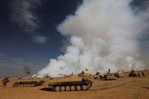 Pasukan Irak tingkatkan serangan terhadap ISIS di Mosul
