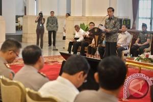 Rakor Presiden Dengan TNI-POLRI