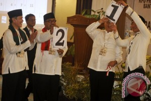 Hasil sementara Pilkada Banten Rano ungguli Wahidin