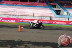 Di Sentul Marquez juga syuting iklan All New Honda CBR250RR