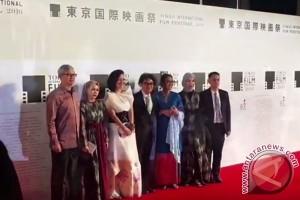 Sineas Indonesia melenggang di karpet merah Festival Film Tokyo