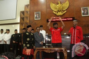 Pencabutan Nomor Urut Cagub-Cawagub Aceh