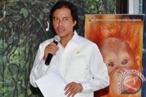 Anggota DPR geram lihat kondisi orangutan di Nyaru Menteng