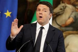PM Italia resmi mundur