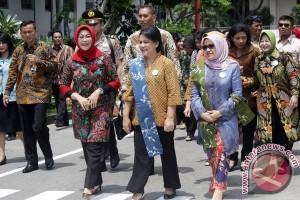 Ibu Iriana Jokowi, Ibu Mufidah JK rencanakan kunker ke Karanganyar