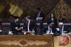 Ketua DPR - Mendagri bertemu bahas RUU Pemilu