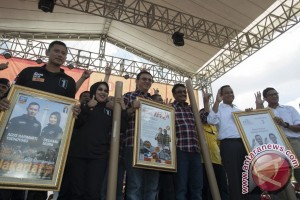 Declaration of peace marks Jakarta gubernatorial election campaign