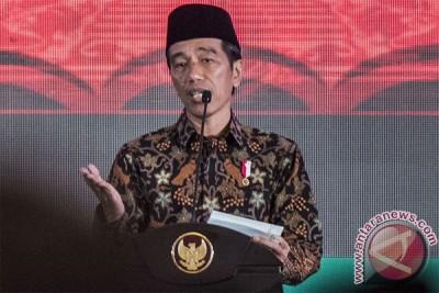 Presiden Jokowi hadiri peringatan Maulid Nabi di GP Ansor