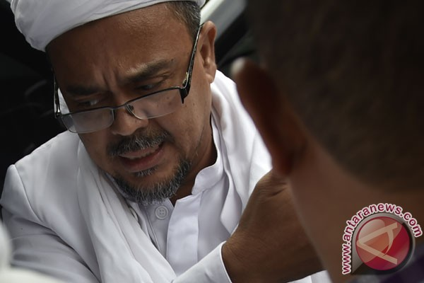 Polisi kembali panggil Rizieq Shihab terkait pelecehan Pancasila
