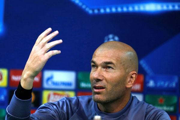 Dua kali kalah berturut-turut, Zidane akui Madrid lagi di momen buruk
