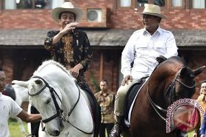Presiden Joko Widodo Kunjungi Kediaman Prabowo Subianto