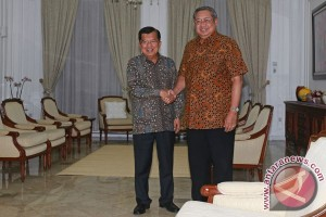 SBY temui Jusuf Kalla di kediaman Jalan Diponegoro