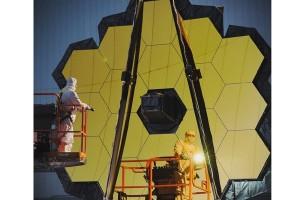 NASA rampungkan pembangunan teleskop antariksa terbesar