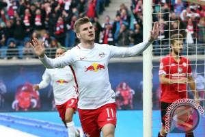Hasil dan klasemen Bundesliga: Leipzig menang, Muenchen tetap teratas