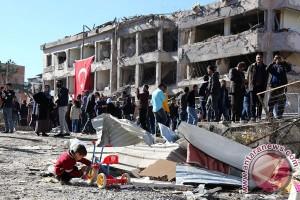 50 orang tewas dalam pemboman Turki terhadap posisi Kurdi