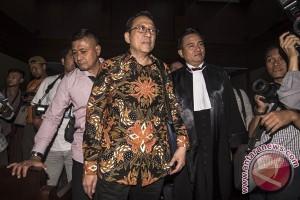Irman Gusman ajukan keberatan terhadap dakwaan KPK