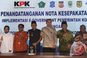 MoU Pencegahan Korupsi Lintas Daerah