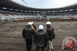 Kajati Tinjau Pembangunan Sarana Asian Games