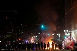 Demo tolak Donald Trump berlanjut, masuki hari keempat
