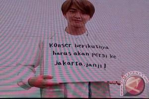 Onew SHINee penuhi janji untuk penggemar Indonesia malam ini