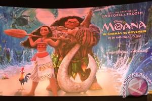 "Dari Polinesia, ""Moana"" berkelana arungi samudra"