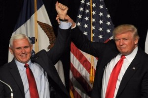 Wapres Mike Pence sudah tak sejalan dengan Presiden Trump