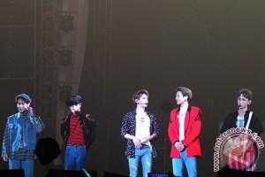 Obrolan personel SHINee sepanjang konser semalam