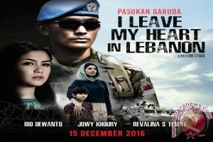 "Rio Dewanto, Yama Carlos beradu peran dalam ""I Leave My Heart In Lebanon """
