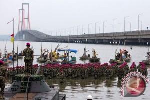 HUT Korps Marinir Di Surabaya