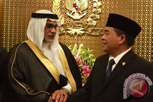 Ketua DPR bahas kuota haji dengan Dubes baru Arab Saudi