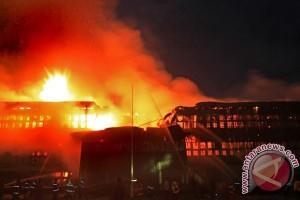 Kebakaran MAPOMDAM Tanjungpura Pontianak