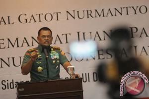 Peringatan panglima TNI soal media sosial